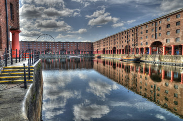 temporary event staff  at albert dock