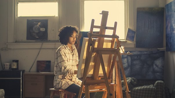 art event artist painting