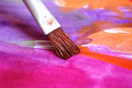 art event painting brush